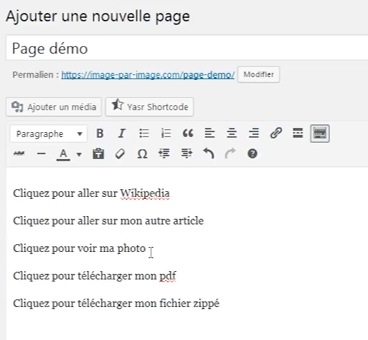 Textes-liens-wordpress
