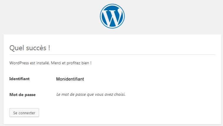 connexion-admin-wordpress