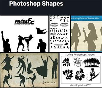 Formes Photoshop sur Deviantart