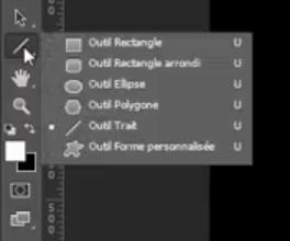 Outil Formes dans Photoshop