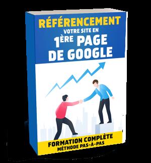 Formation Référencement SEO : votre site en 1ère page de Google